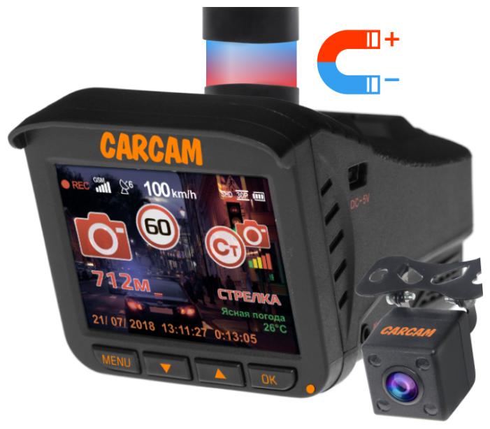 Купить Видеорегистратор с радар-детектором CARCAM COMBO 5S, 2 камеры, GPS, ГЛОНАСС в интернет-магазине на Яндекс.Маркете. Характеристики, цена Видеорегистратор с радар-детектором CARCAM COMBO 5S, 2 камеры, GPS, ГЛОНАСС на Яндекс.Маркете