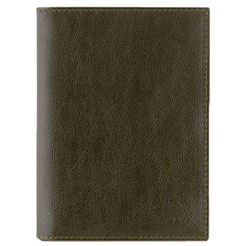 Обложка на автодокументы и паспорт 2в1 Qoper 0546 brown