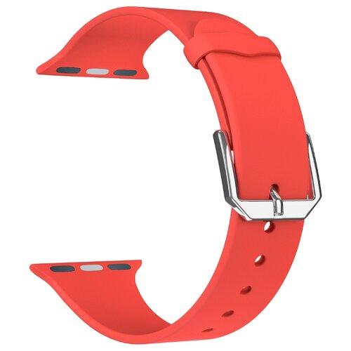 Фото - Lyambda Силиконовый ремешок Alcor для Apple Watch 42/44 mm red lyambda силиконовый ремешок alcor для apple watch 42 44 mm green
