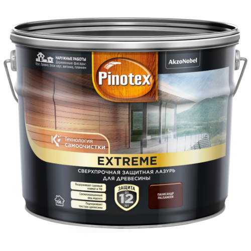 Водозащитная пропитка Pinotex Extreme 9 л