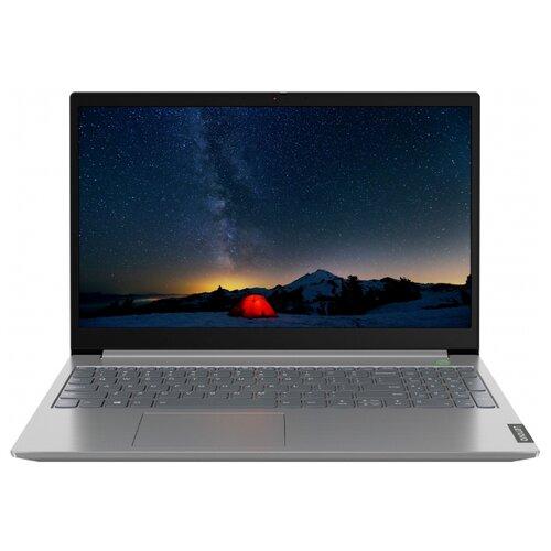 "Ноутбук Lenovo ThinkBook 15-IIL (Intel Core i3 1005G1 1200MHz/15.6""/1920x1080/4GB/128GB SSD/DVD нет/Intel UHD Graphics/Wi-Fi/Bluetooth/DOS) 20SM002HRU серый"