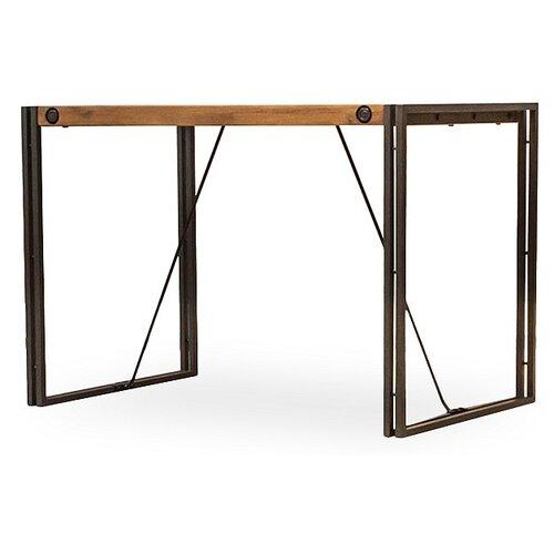 Стол кухонный Secret de Maison CITY, ДхШ: 110 х 70 см, бежевый/ серый