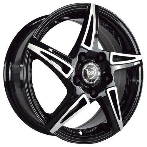 Фото - Колесный диск NZ Wheels SH661 6.5x16/4x100 D54.1 ET52 BKF nz sh655 6 5x16 4x100 d54 1 et52 s
