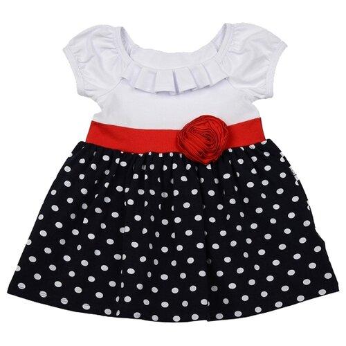 Фото - Платье Mini Maxi размер 98, белый/черный/красный платье mini maxi размер 98 синий красный