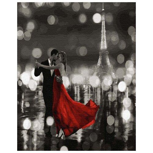 Купить Картина по номерам ВанГогВоМне ZX 22613 Танцующий Париж 40х50 см, Картины по номерам и контурам