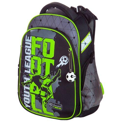 Hummingbird Рюкзак Youth League Football (T83), черный / серый hummingbird рюкзак miss b t20 серый