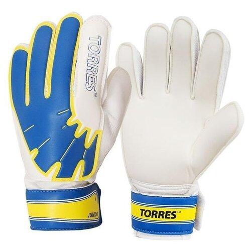 Перчатки TORRES размер 7, белый/желтый