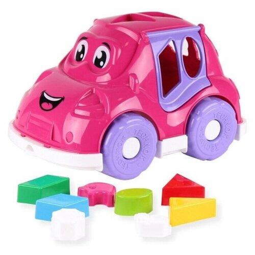 Купить Автомобиль-сортер Technok Toys, ц. розовый, ТехноК, Сортеры