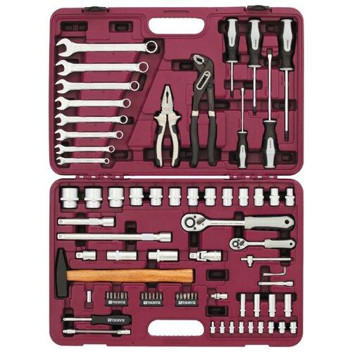 Набор инструментов Thorvik (77 предм.) UTS0077 серебристый набор инструментов thorvik 77 предм uts0077 серебристый