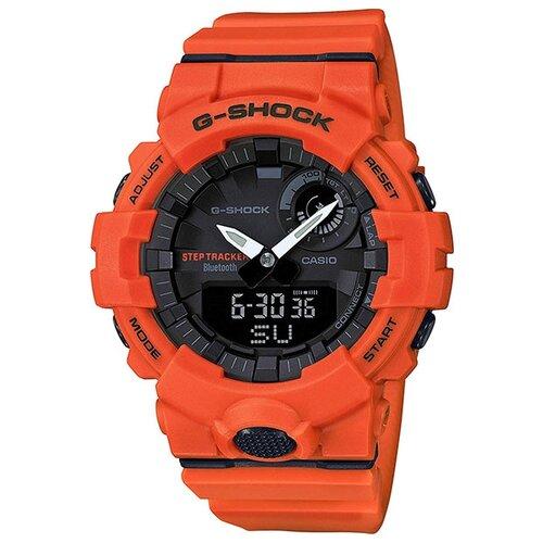Наручные часы CASIO G-Shock GBA-800-4A casio g shock gba 400 7c с хронографом белый