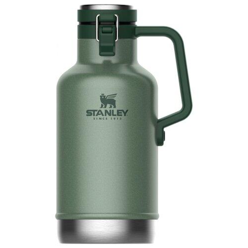 Классический термос STANLEY Classic (1,9 л) темно-зеленый