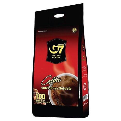 Растворимый кофе Trung Nguyen G7 черный, в пакетиках (100 шт.) great military commanders vo nguyen giap a biography