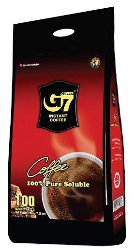 Купить Растворимый кофе Trung Nguyen G7 черный, в пакетиках (100 шт.) по низкой цене с доставкой из Яндекс.Маркета