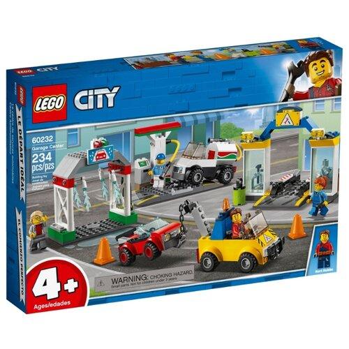 Конструктор LEGO City 60232 Автостоянка конструктор city lego lego mp002xb00c9t