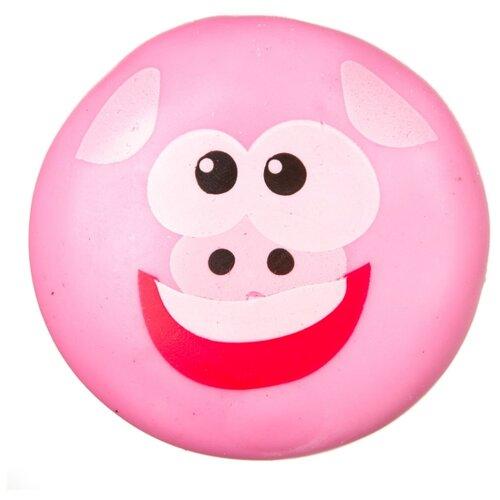 Купить Игрушка-мялка BONDIBON Чудики Поросенок (ВВ3570) розовый, Игрушки-антистресс