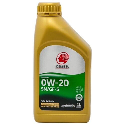 Фото - Моторное масло IDEMITSU 0W-20 SN/GF-5 1 л моторное масло total quartz 9000 future gf 5 0w 20 1 л