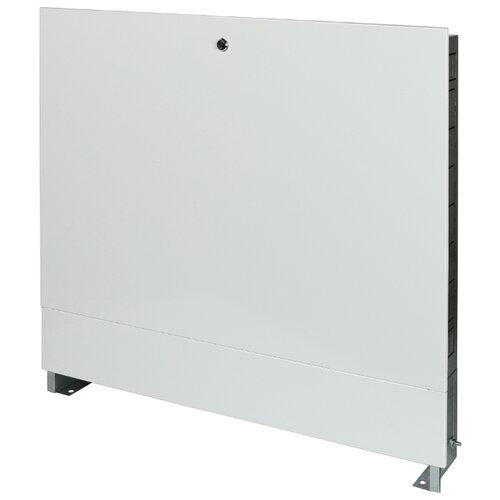 Коллекторный шкаф встраиваемый STOUT ШРВ-3 SCC-0002-000810 белый шкаф распределительный stout встроенный 1 3 выхода шрв 0 670х125х404 мм scc 0002 000013