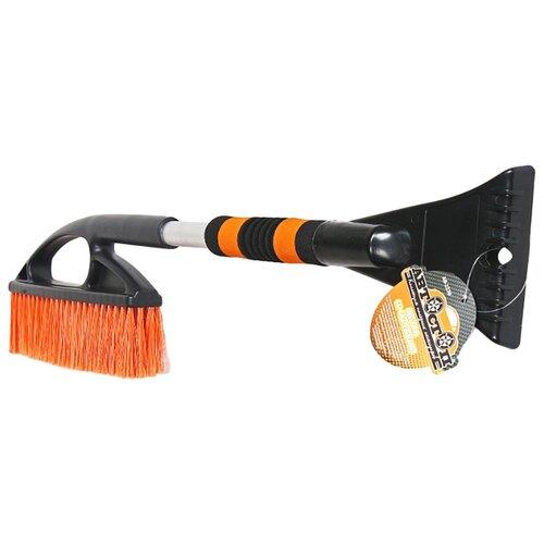 Фото - Щетка-скребок Автостоп АВ-2236 черный/оранжевый щетка скребок fiskars snowxpert 1019352 белый оранжевый