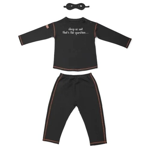 Пижама Happy Baby размер 92-98, black футболка happy baby размер 98 light blue