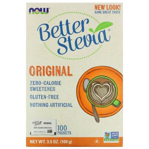 Better Stevia сахарозаменитель Original, саше порошок 100 г 1 шт. 100 шт.