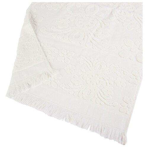 Arya Полотенце с бахромой Isabel Soft для лица 50х90 см экрю arya полотенце miranda soft для лица 50х90 см сухая роза