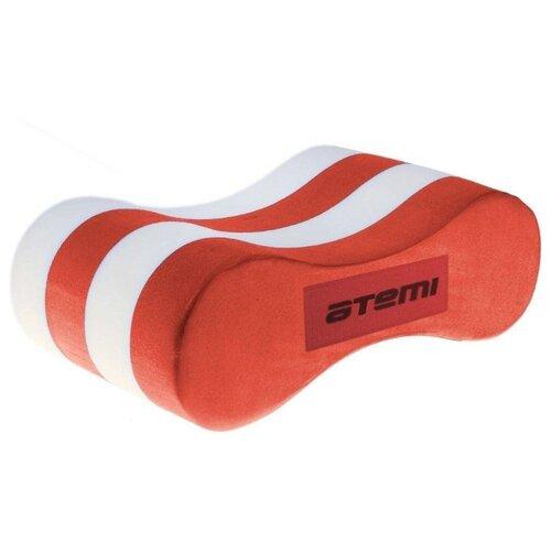Колобашка (поплавок) для плавания ATEMI ASB3 белый/красный