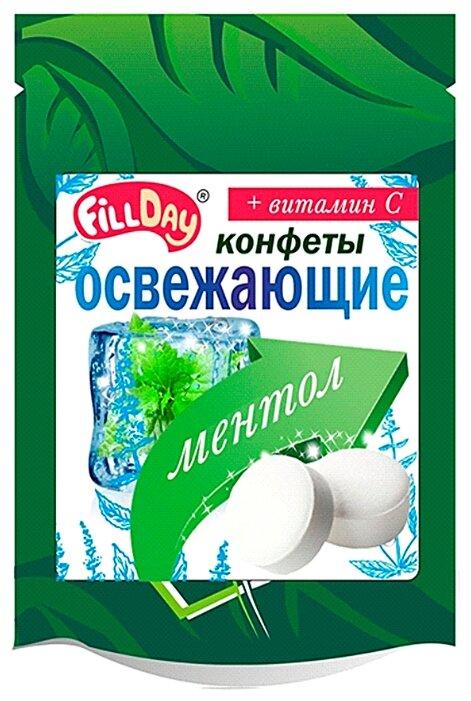 Конфеты освежающие FillDay с ментолом и витамином С 20 г