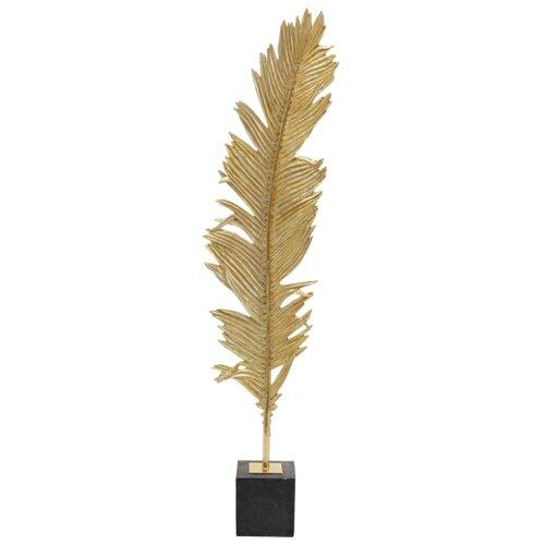 KARE Design Статуэтка Pen, коллекция Перо 36*147*15, Сталь, Полирезин, Золотой статуэтка faberge oc33719 серый золотой черный