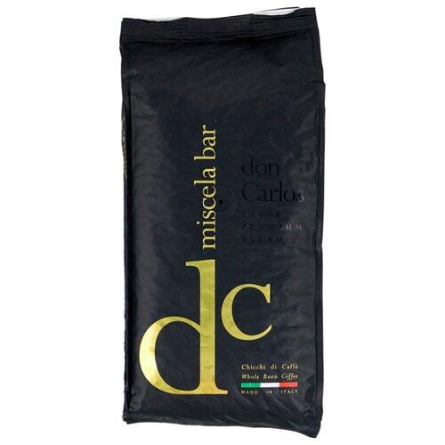Кофе в зернах Carraro Don Carlos, арабика/робуста, 1 кг carraro don cortez white кофе в зернах 1 кг