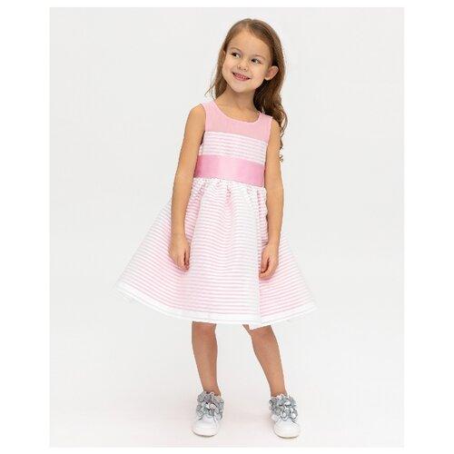 Купить Платье Gulliver размер 98, розовый, Платья и сарафаны