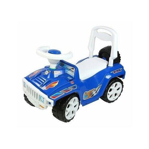 Купить Каталка-толокар Orion Toys Ориончик (419) со звуковыми эффектами синий, Каталки и качалки