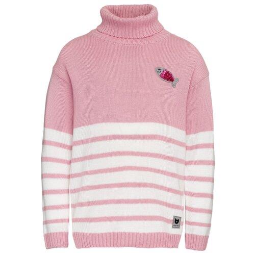 Купить Свитер Button Blue размер 116, розовый, Свитеры и кардиганы