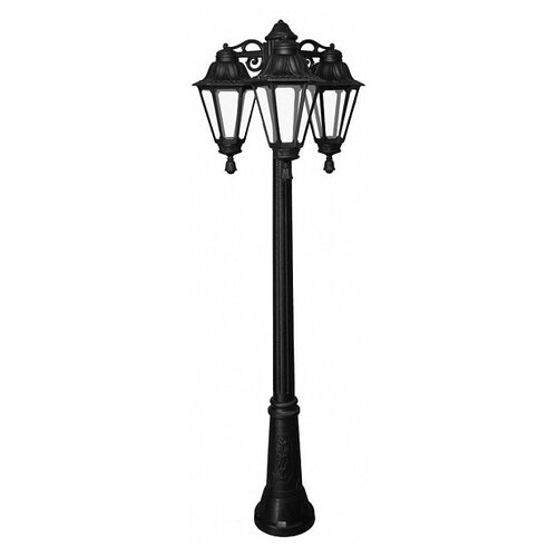 Fumagalli Уличный светильник Rut E26.156.S30.AXF1RDN, E27, 18 Вт, цвет арматуры: черный fumagalli уличный светильник rut e26 156 s30 wxf1rdn