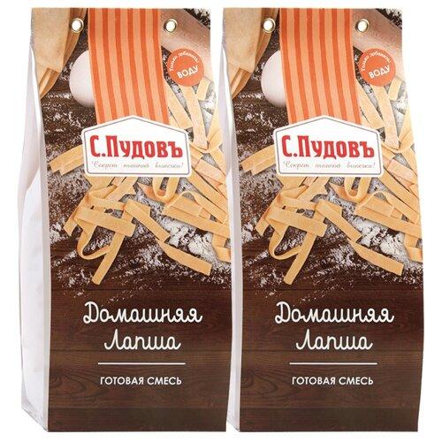 С.Пудовъ Мучная смесь Домашняя лапша (2 шт.), 0.35 кг