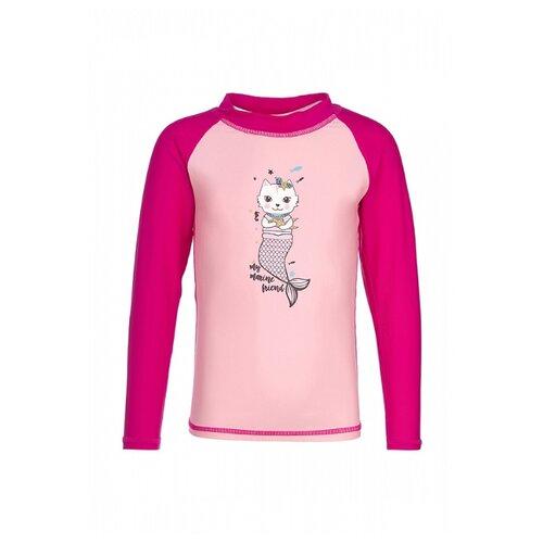 Купить Пляжная футболка Oldos размер 92, розовый, Белье