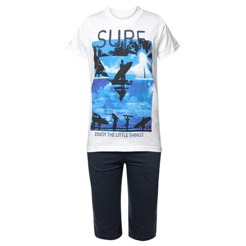 Купить Комплект одежды M&D размер 134, белый, Комплекты и форма