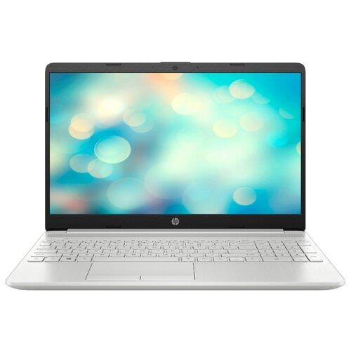 Ноутбук HP 15-dw2014ur (Intel Core i3 1005G1 1200MHz/15.6/1920x1080/4GB/128GB SSD/DVD нет/Intel UHD Graphics/Wi-Fi/Bluetooth/DOS) 103W2EA естественный серебряный ноутбук