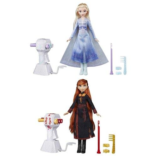 Купить Кукла Hasbro Disney Princess Холодное сердце 2 с аксессуарами для волос, E6950, Куклы и пупсы