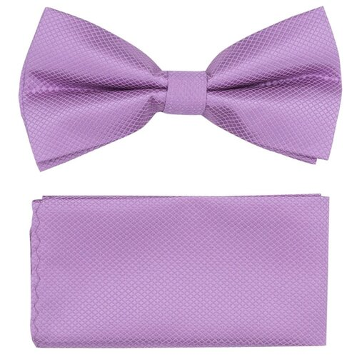 Комплект из 2 предметов OTOKODESIGN галстук-бабочка и платок 537/560 сиреневый