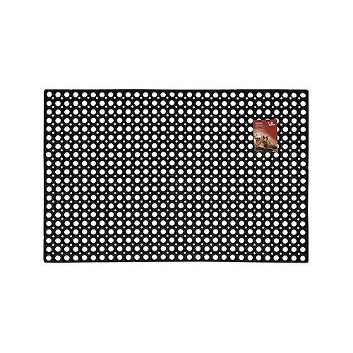 Придверный коврик VORTEX Ячеистый грязесборный, размер: 1.2х0.8 м, черный цена 2017