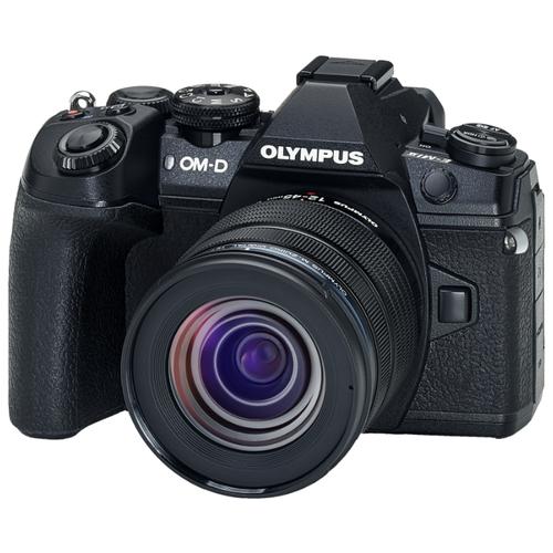 Фотоаппарат Olympus OM-D E-M1 Mark II Kit черный M.Zuiko Digital ED 12-45mm 1:4:0 PRO