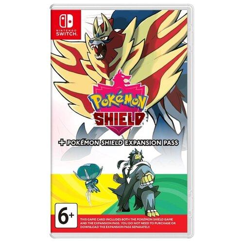 Игра для Nintendo Switch: Pokemon Shield + Expansion Pass