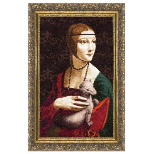 Купить Золотое Руно Набор для вышивания Дама с горностаем 44 х 27 см (МК-016), Наборы для вышивания