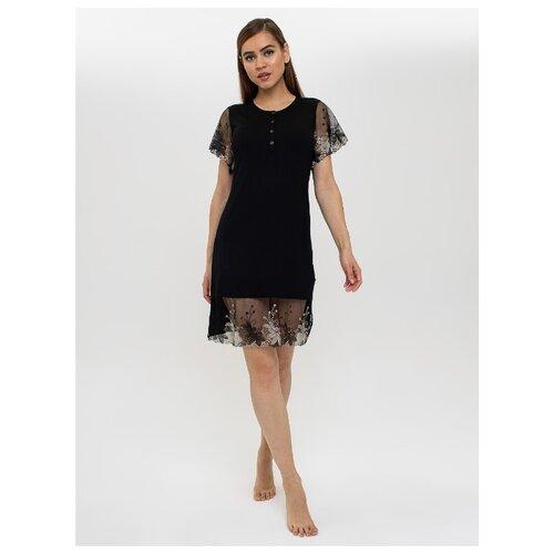 цена Сорочка Monamise размер XXL черный онлайн в 2017 году