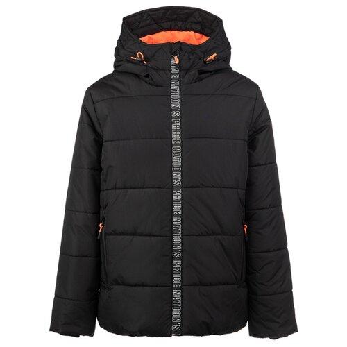 Купить Куртка playToday Classic 2020 22011075 размер 152, черный, Куртки и пуховики