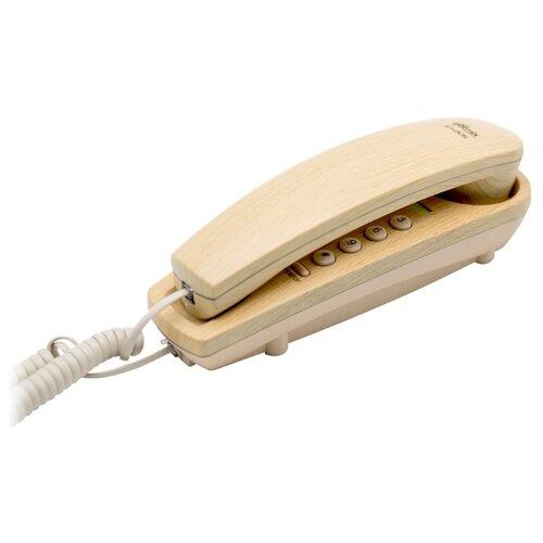 Телефон Ritmix RT-005 light wood проводной телефон ritmix rt 005 черный