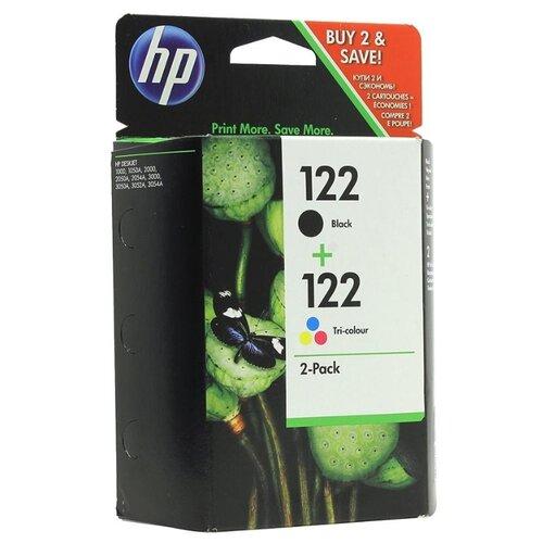 Картридж ориг. HP CH561HE (№122) черный/ CH562HE (№122) цветной, комбинирован. упаковка, цена за штуку, 244243