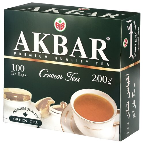 Чай зеленый Akbar Green Tea в