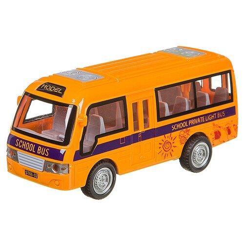 Купить Автобус Yako На земле, В небе, На море (В95575) желтый, Машинки и техника