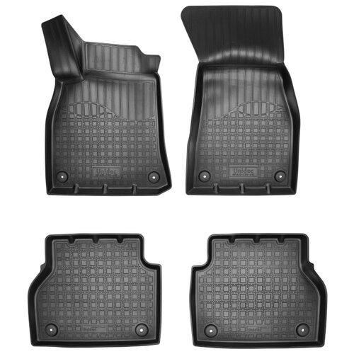 Комплект ковриков NorPlast NPA10-C05-410 Audi A6 4 шт. черный
